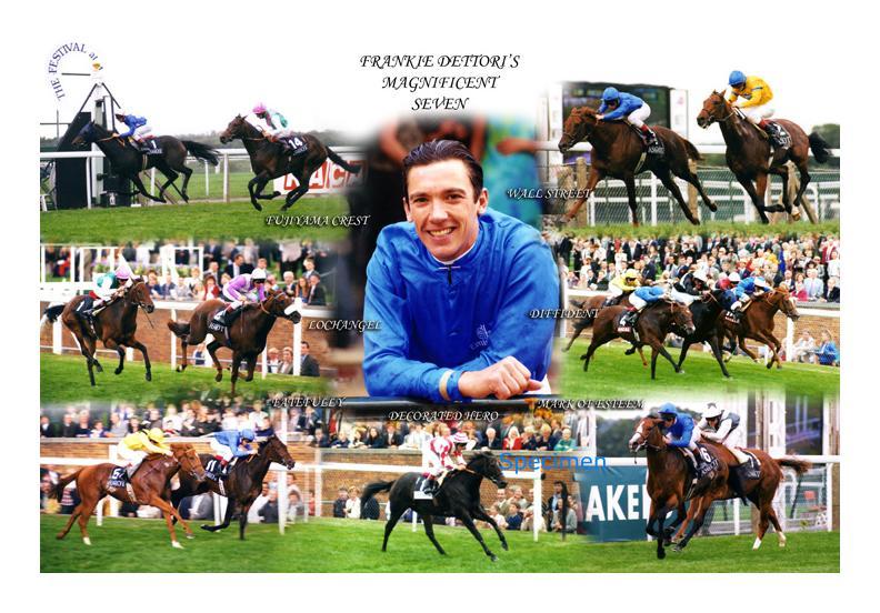 Frankie dettori magnificent 7